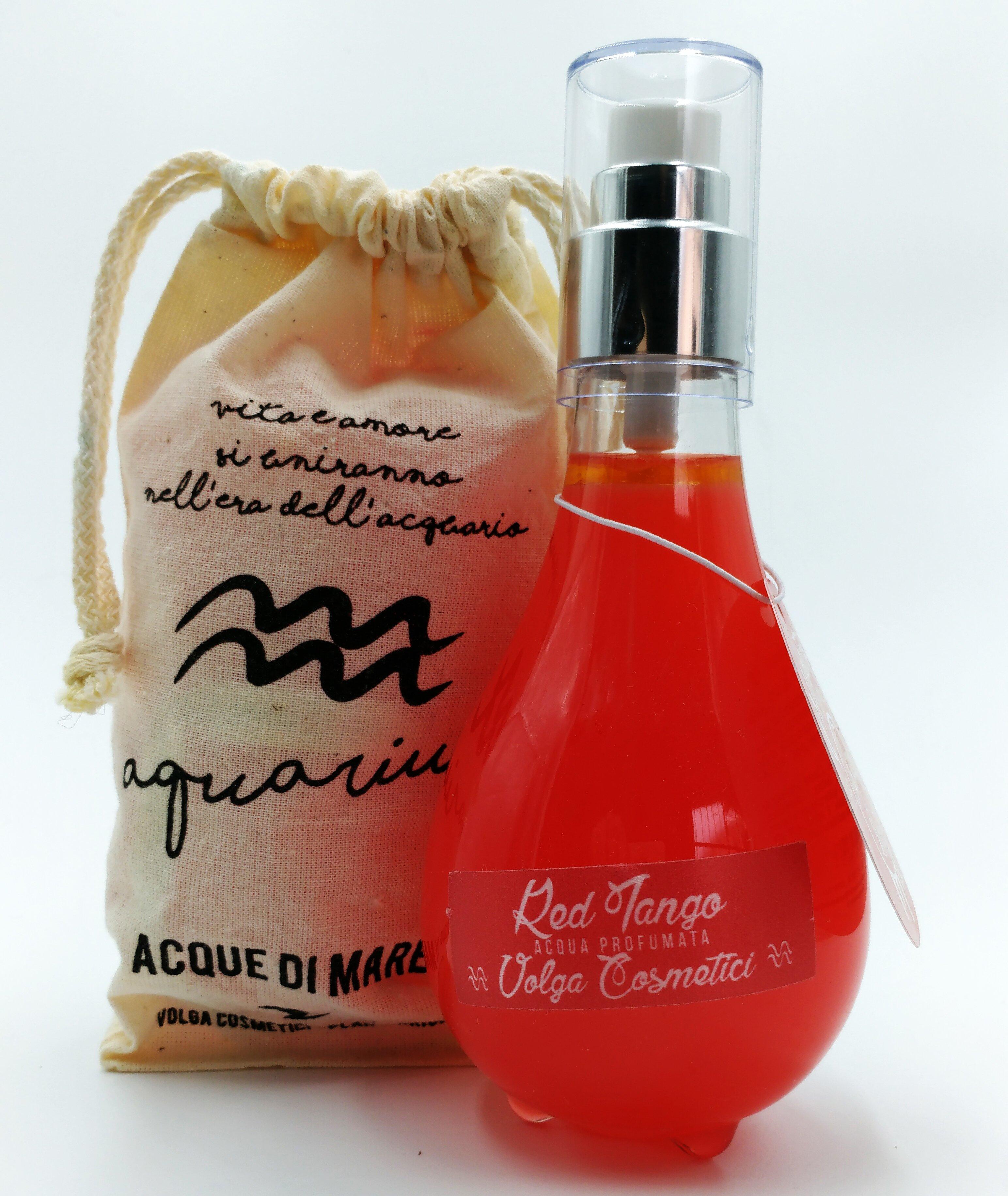 Acqua di Mare - Red Tango - Passione Latina - VOLGA COSMETICI