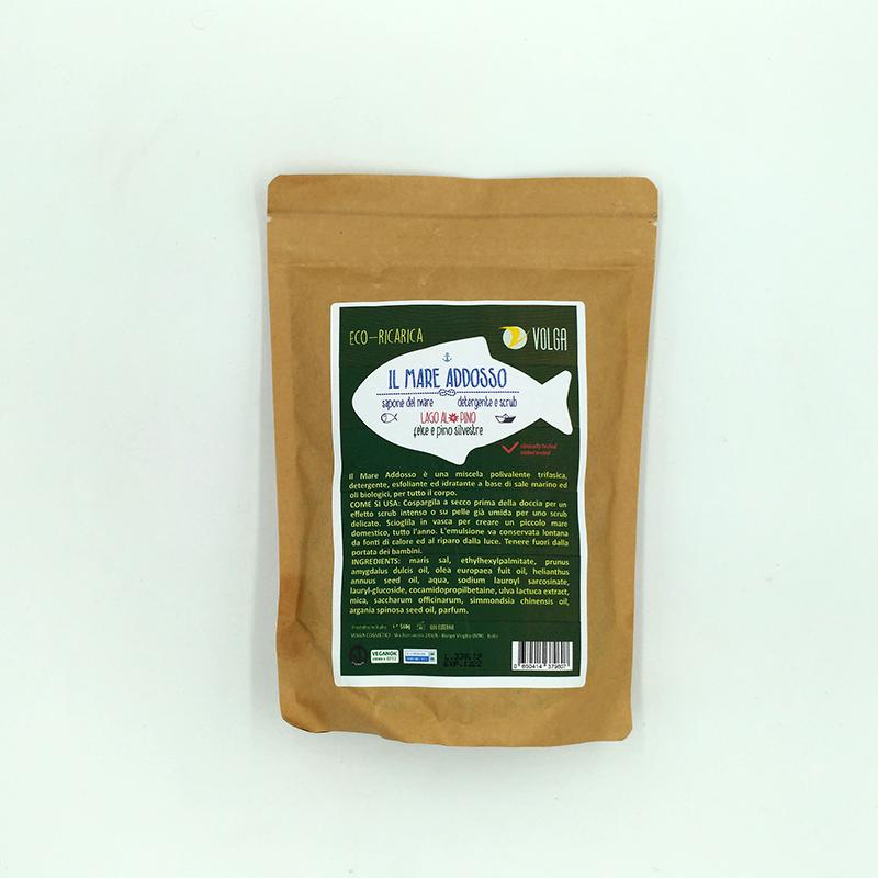 Ecoricarica in busta biodegradabile